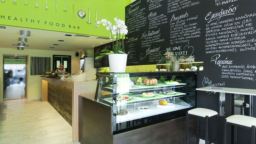 Healthy food bar